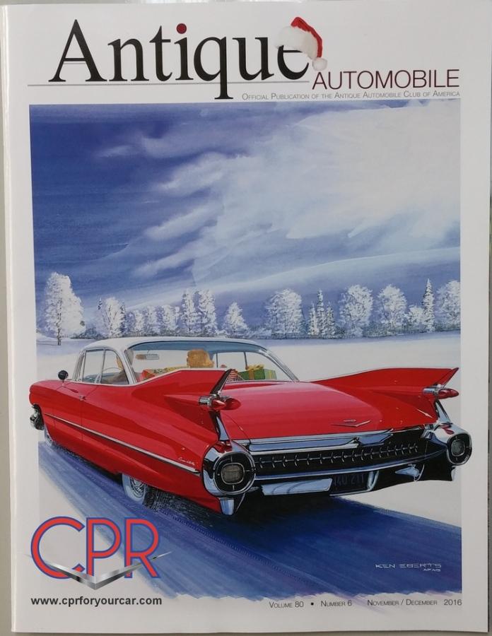 1959 Cadillac magazine cover